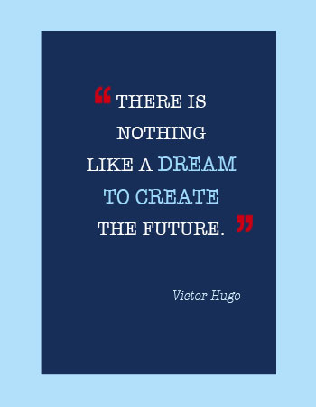 "Contact Christy and Associates.. ""there is nothing like a dream to create the future"""